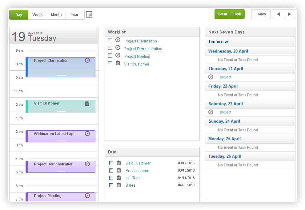 Daily Task Management