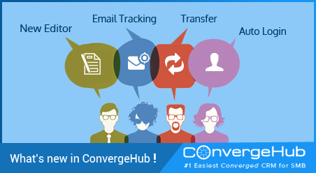 What's new in ConvergeHub