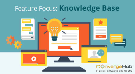 ConvergeHub CRM Feature Focus - Knowledge Base
