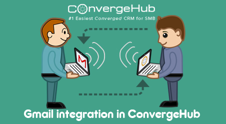 Gmail integration in ConvergeHub