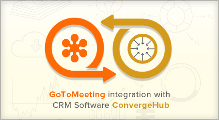 Goto meeting integration with CRM software ConvergeHub