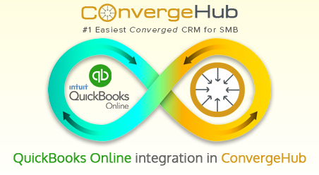 QuickBooks integration with ConvergeHub