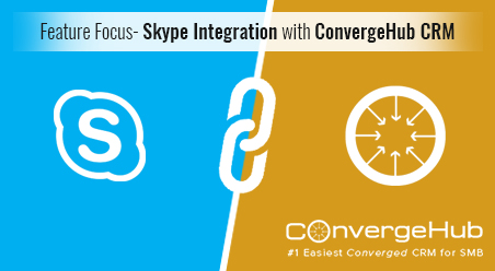Skype Integration with ConvergeHub CRM