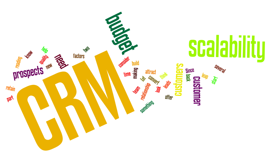 Right CRM Solution