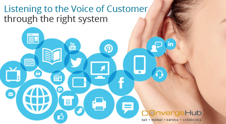 Choosing the right system to listen to the Voice of the Customer (VoC)
