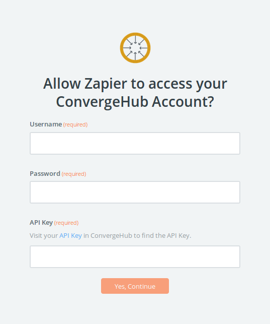 allow-zapier-to-access-your-convergehub-account