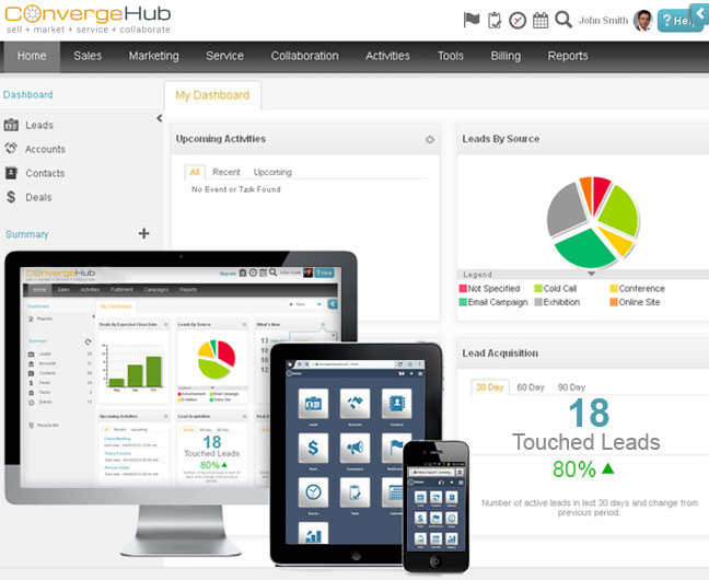 Company data at fingertips
